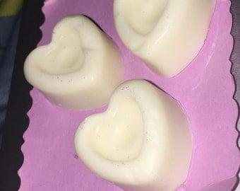 White Oud (incense/bakhoor) scented soaps!