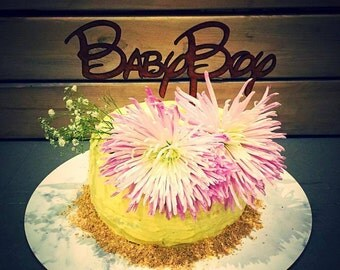 "Cake Topper ""Baby Boy"""