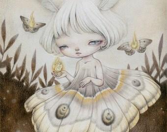 Light My Life-- limited edition print (6/20) by Yishu Wang