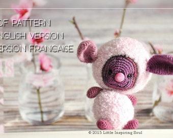 lucky floffy pdf crochet pattern amigurumi