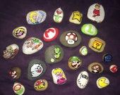 Mario collection + additional custom art pieces