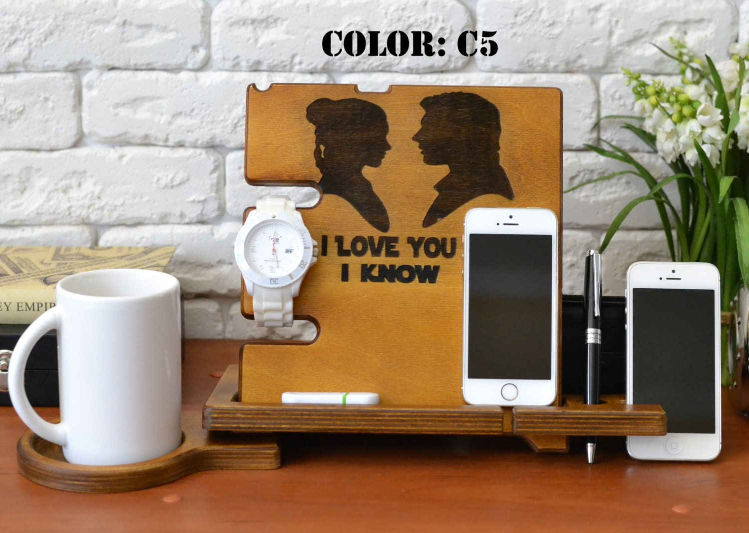 boyfriend gift ideas funny gift for boyfriend wood office desk. Black Bedroom Furniture Sets. Home Design Ideas