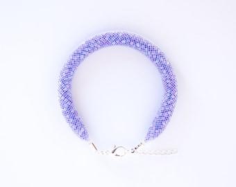 Bracelet mesh pastel lilac Bluefish