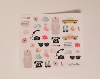 Breakfast at Tiffany's Planner Stickers