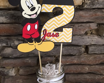 Mickey Mouse Centerpiece Etsy