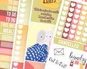 Gilmore Girls No White-Space Weekly Kit - Planner Stickers