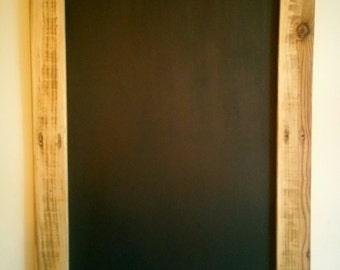Rustic Chalkboard with waxed finish