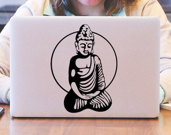 One With Everything Meditating Buddha Decal