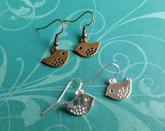Petite Bird Earrings