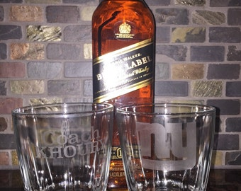 laser etched glass custom glass etching groomsmen gifts personalized groomsmen gifts man cave gifts house warming gift  Etched Whiskey glass