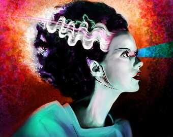 Bride of Frankenstein (Neon)