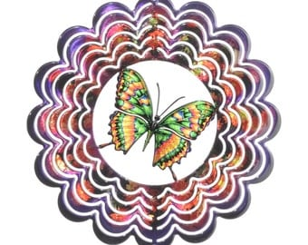 Next Innovations Small Kaleidoscope Butterfly Wind Spinner
