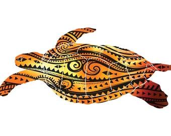 Metal Turtle Wall Art Fiesta Sea Turtle Decor