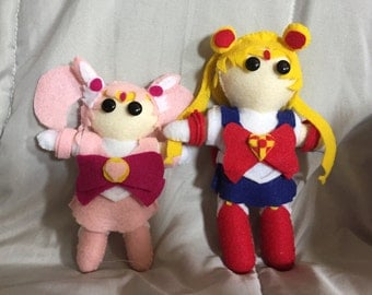 Sailor Moon Plush Dolls