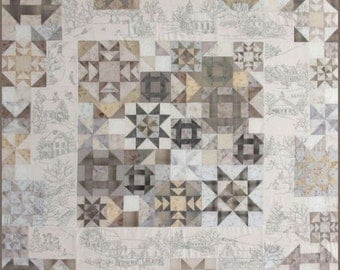 DESTASH! Crabapple Hill Hand Embroidery Quilt Kit
