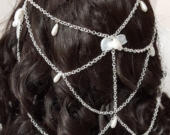 Bridal Hair Chain