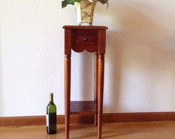 Antique Table, Side Table, End Table, Solid Cherry Wood