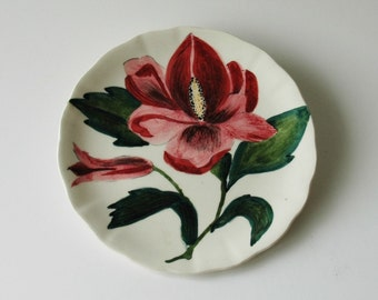 "Clarice Cliff designed ""Jersey Lily"" side plate"