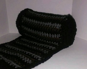 Thick winter scarf for men