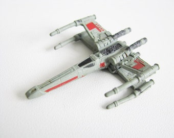 1997 Star Wars Vintage Micro-Mini X Wing Fighter from Kenner Hasbro