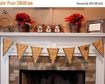 SALE Fall Pumpkin Banner