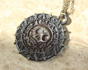 steampunk style Pirates of the Caribbean necklace N14A