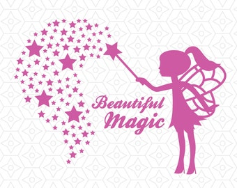 Fairy Beautiful Magic Decorative Decal