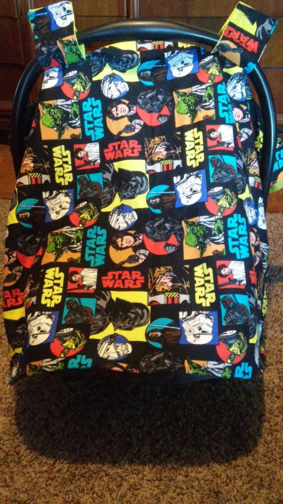 Bright Standard Star Wars Car Seat Cover