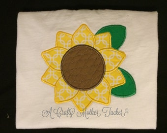 Sunflower Applique Shirt