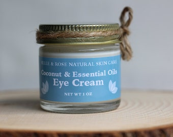 Organic Coconut and Essential Oils  Eye Cream