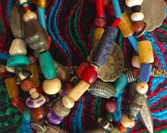 Vintage Rupees - Handmade Necklace