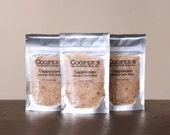 Cappuccino Mineral Bath Soak - Chocolate + Soy Milk Bath Salts - Stocking Stuffers -  Gifts for Coffee Lover - Cooper's Handcrafted Soap Co.