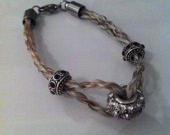 Horsehair bracelets