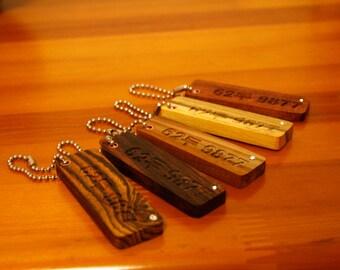 Chansthinks Wood nametag