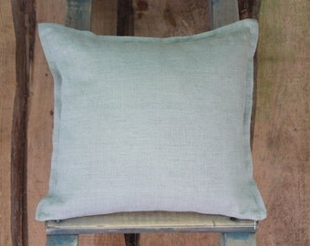 Linen Pillow, Plain Pillow Covers, Eco friendly home decor