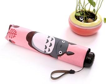 Totoro Pink Umbrella