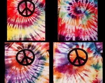 Peace CND Tie Dye T shirt