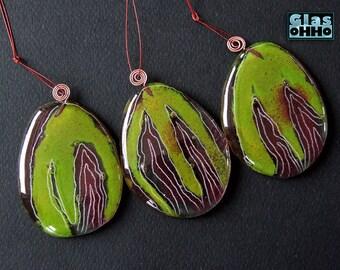 Easter eggs green- 3 pcs