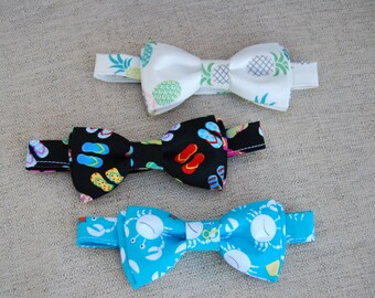 Hawaiian Beach Bow Ties
