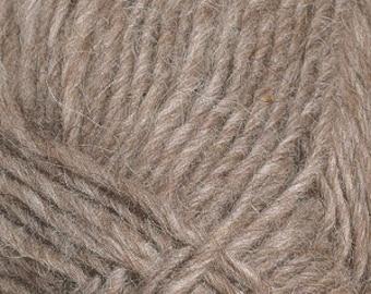 Lettlopi 'Oatmeal heather' 0085 Icelandic 100% wool aran weight yarn lopapeysa lett lopi by Ístex