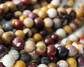 """Mookaite beads, 6mm round, Natural Gemstone, Multi Color Jasper, Smooth Round, full strand, 15""""-16"""" sold as approx. 66 beads."""