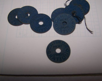 World War 2 Meat Ration tokens