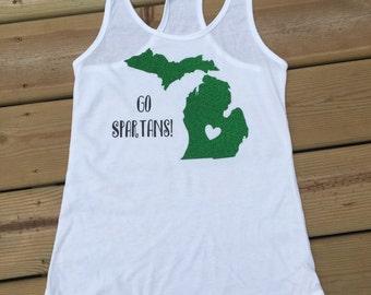 Go Spartans shirt