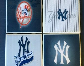 New York Yankees coaster set