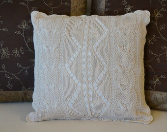 The pillow cover White Sand