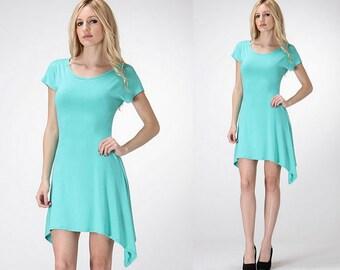 Sky Blue Spring Tunic/Spring Tunic Dress