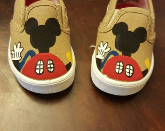 Mickey Mouse Clubhouse Handpainted children's shoes