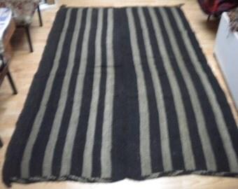 kılım handmade vıntange  rug goat wool  142x210 cm 4.9x6.11 ft