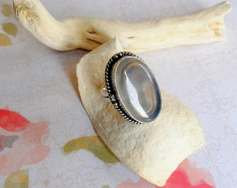 Cat's Eye Oval Ring