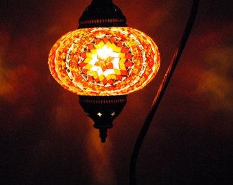 Kapadokya Gold - Handmade Turkish Table Lantern Lamp